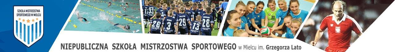Mielecka szkoła mistrzostwa sportowego, profesjonalne kształcenie sportowe, profile piłka nożna, siatkowa, pływanie
